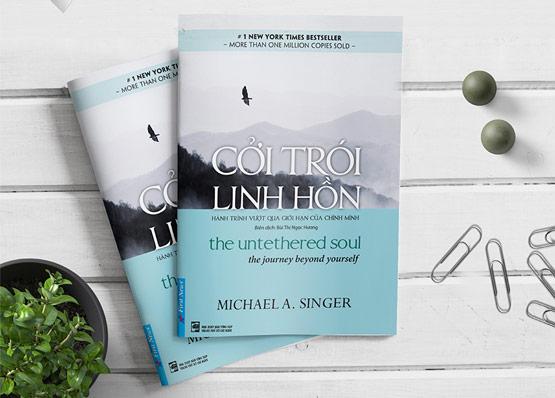"""Sách """"Cởi trói linh hồn"""" của tác giả Michael A.Singer"""
