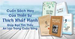 Top những cuốn sách hay nhất của thiền sư Thích Nhất Hạnh
