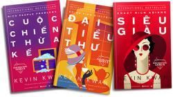 Điểm sách: Bộ tiểu thuyết ăn khách Giới siêu giàu Châu Á