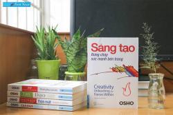 Review sách Sáng tạo, bừng cháy sức mạnh bên trong - Osho